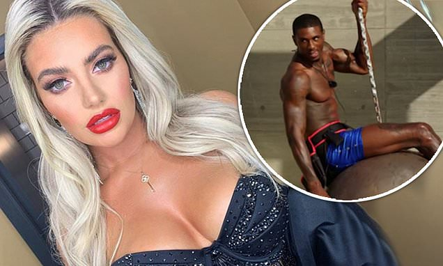 Megan Barton Hanson vows to slide into Love Island star Ovie Soko's DMs