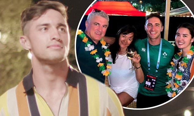 Greg O'Shea's family didn't know he was joining Love Island until they saw him on TV
