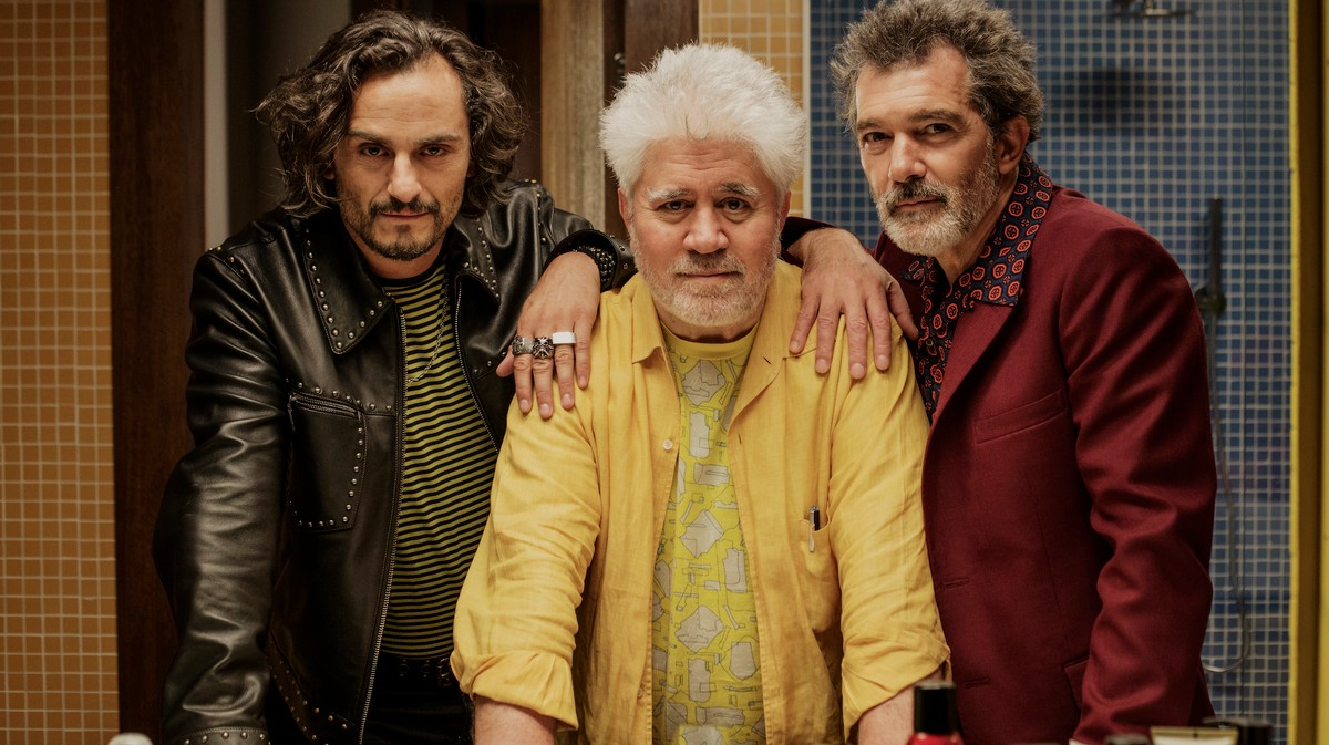 pedro almodóvar on the personal tragedies that inform his new film, 'pain and glory'