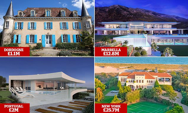 World's most opulent homes revealed at luxury property show including a £25.7MILLION pad in New York