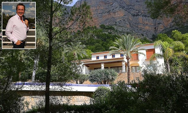 £2m Spanish mansion where ex-Thomas Cook boss spent the summer as the holiday firm collapsed