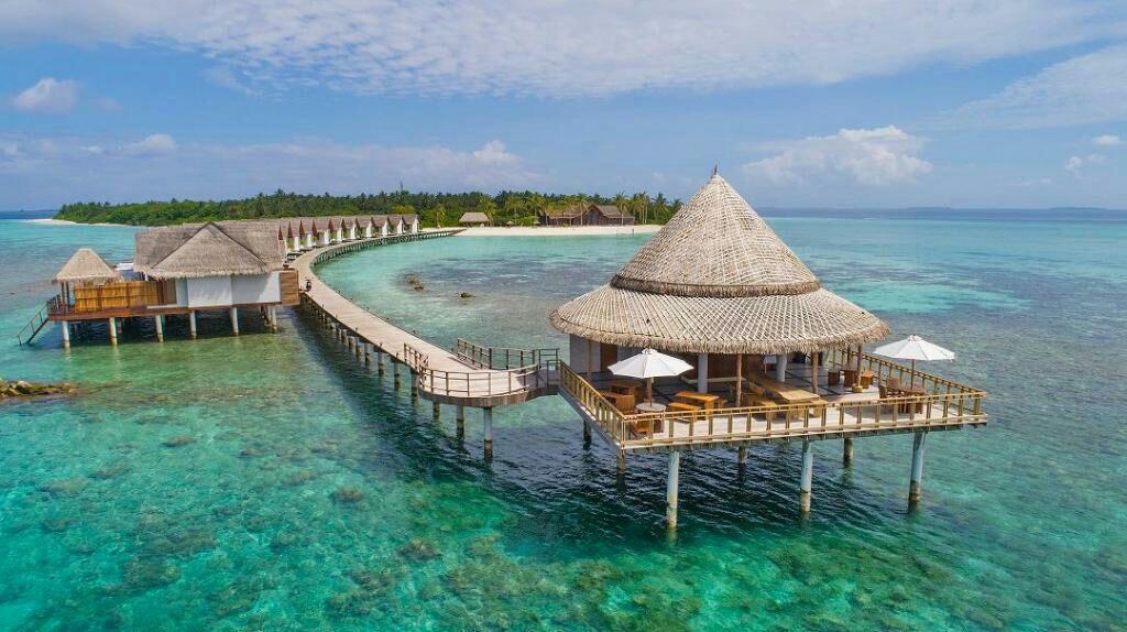 108° – 5* Maldives Villa holiday July-Aug 2020 7 nights 23kg baggage £1100pp 2people via Skyscanner