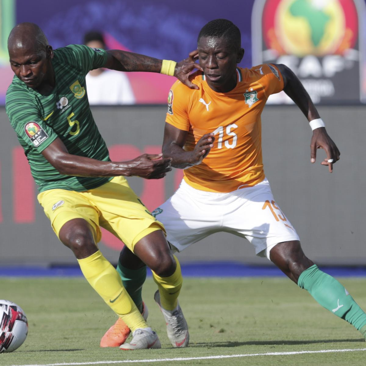 AFCON 2019: Monday Scores, Results, Standings and Updated Schedule