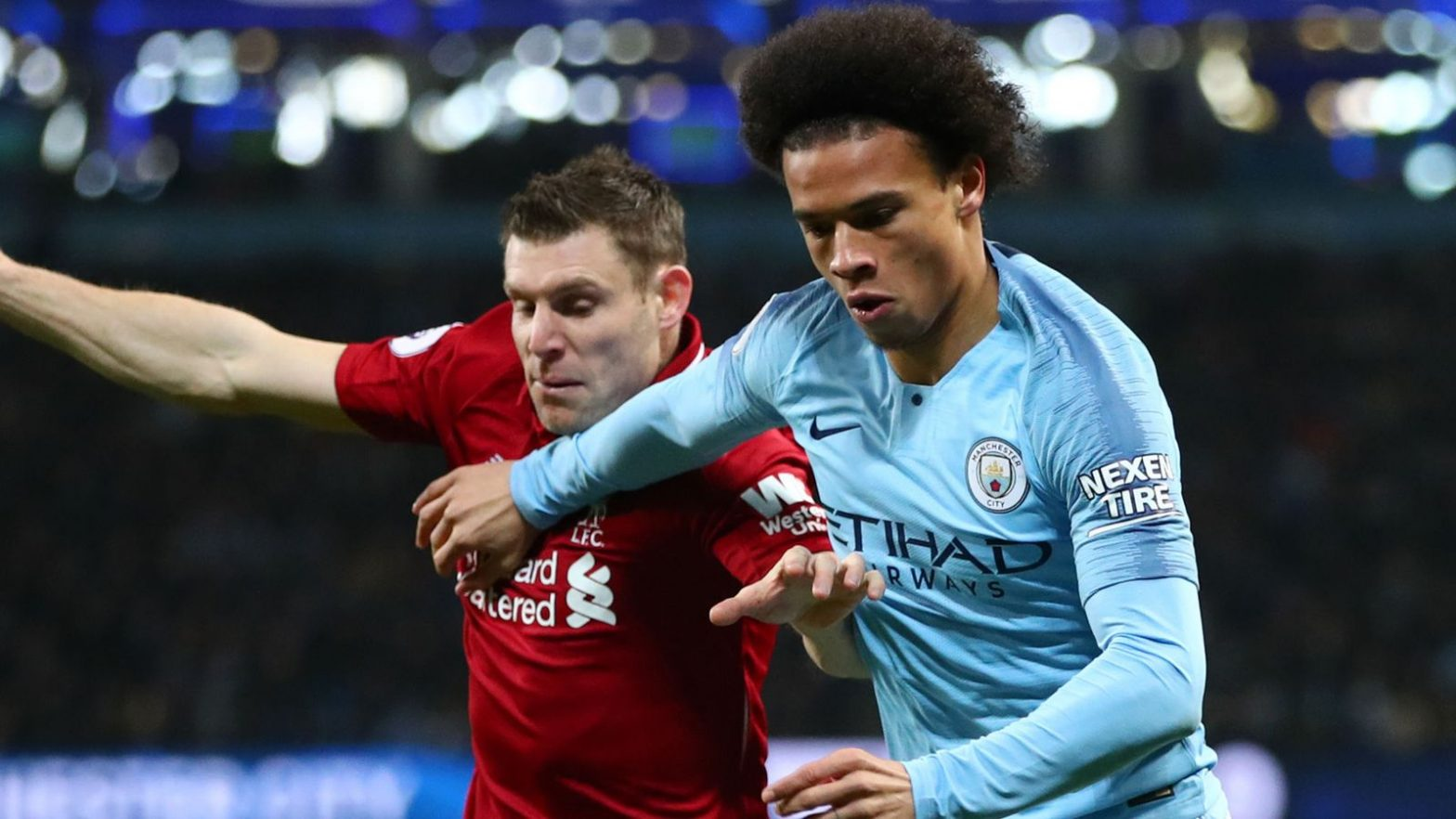 Contrasting run-ins for City, Liverpool