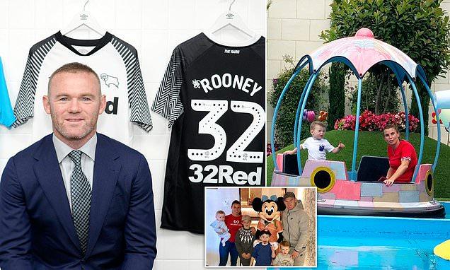 Wayne Rooney's £100,000-a-week Derby deal raises suspicion