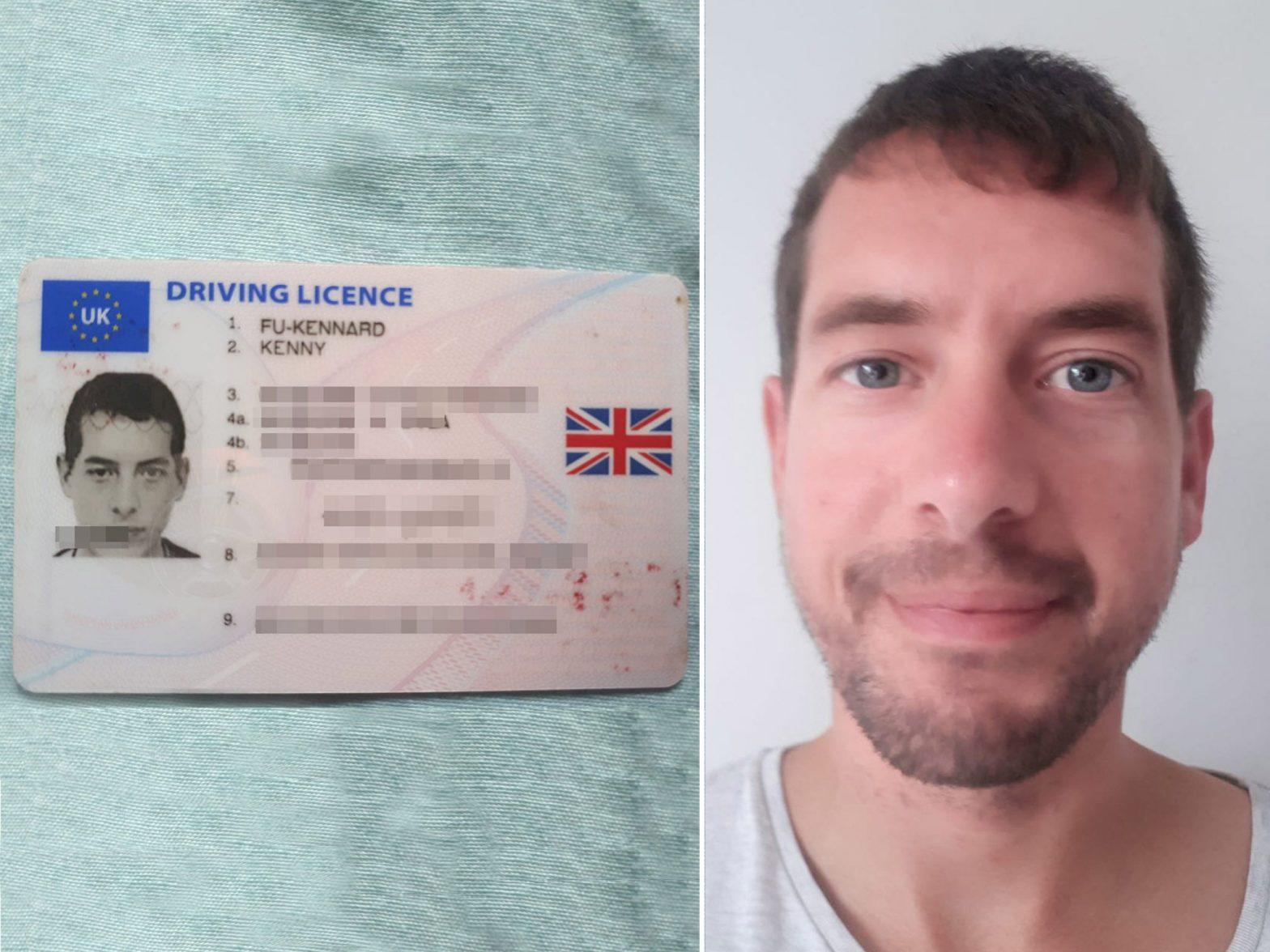 Man who changed surname to Fu-Kennard denied UK passport