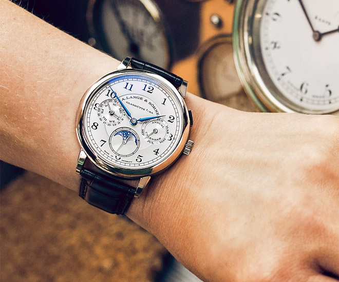 A. Lange 1815 Annual Calendar among other classic stars at Concours of Elegance at Hampton Court Palace
