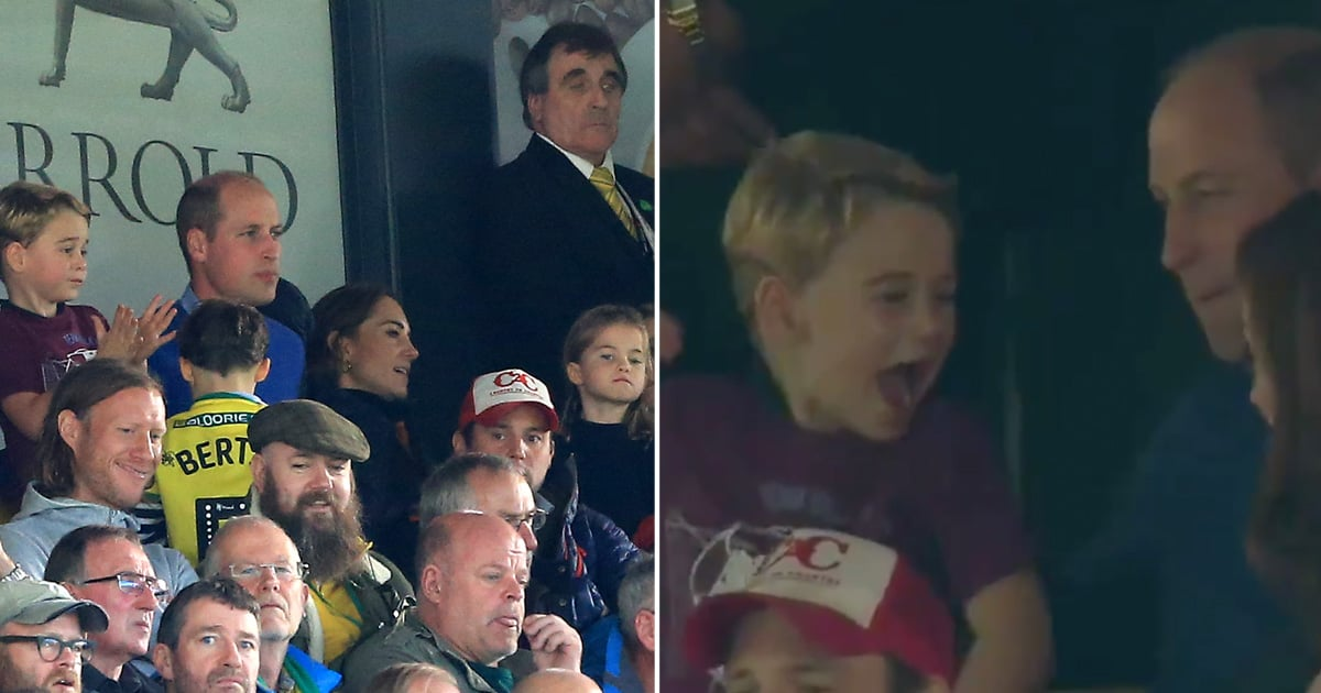 May Prince George's Lively Cheers at a Soccer Game With William and Kate Lift Your Spirits