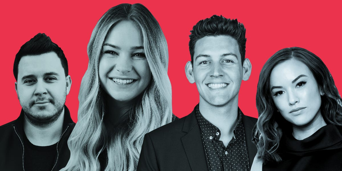 The top 14 talent managers for YouTube creators and influencers who are shaping the future of digital media