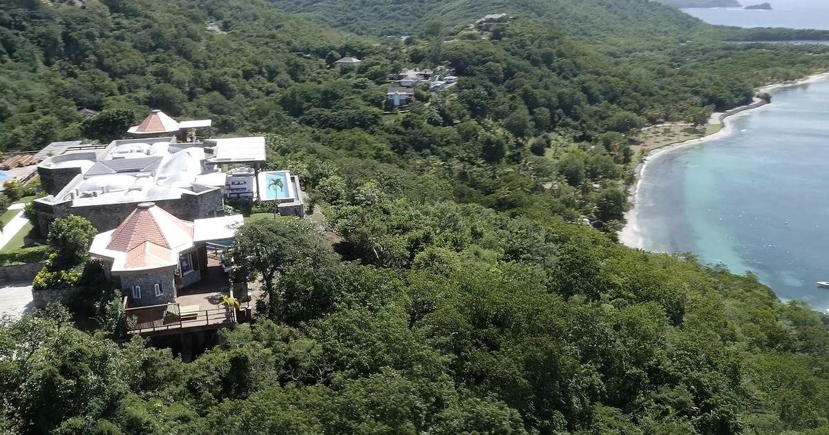 Inside Boris Johnson and Carrie Symonds' £20,000-a-week Caribbean holiday villa